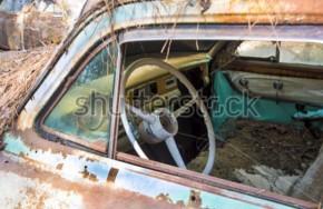 Seno automobilio dalys