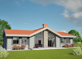 Modernus namo projektas